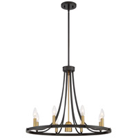 Quoizel BLD5008DC Ballard 8 Light 27 inch Dark Cherry Chandelier Ceiling Light