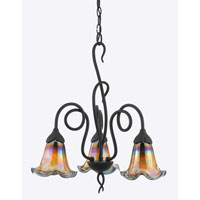 Quoizel Lighting Bellissimo 3 Light Chandelier in Imperial Bronze BLDS5103IB