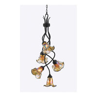 Quoizel Lighting Bellissimo 5 Light Chandelier in Imperial Bronze BLFF5105IB alternative photo thumbnail