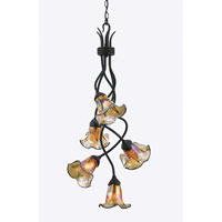 Quoizel Lighting Bellissimo 5 Light Chandelier in Imperial Bronze BLFF5105IB