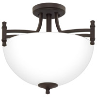 Quoizel BLG1715OZ Billingsley 2 Light 15 inch Old Bronze Semi-Flush Mount Ceiling Light photo thumbnail