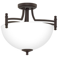 Quoizel BLG1715OZ Billingsley 2 Light 15 inch Old Bronze Semi-Flush Mount Ceiling Light alternative photo thumbnail