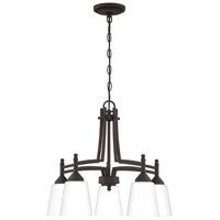 Quoizel BLG5122OZ Billingsley 5 Light 22 inch Old Bronze Chandelier Ceiling Light