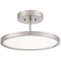 Quoizel BLW1715BN Beltway LED 15 inch Brushed Nickel Semi-Flushmount Ceiling Light