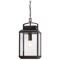 Byron 1 Light 10 inch Imperial Bronze Outdoor Hanging Lantern