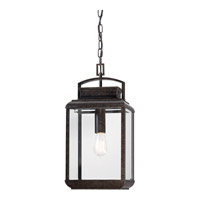 Quoizel Byron 1 Light Outdoor Hanging Lantern in Imperial Bronze BRN1910IBFL