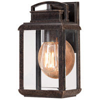 Quoizel Lighting Byron 1 Light Outdoor Wall Lantern in Imperial Bronze BRN8406IB