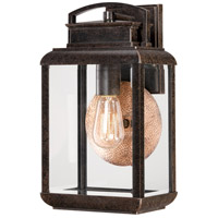 Quoizel Lighting Byron 1 Light Outdoor Wall Lantern in Imperial Bronze BRN8408IB