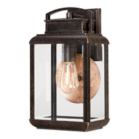 Quoizel Byron 1 Light Outdoor Wall Lantern in Imperial Bronze BRN8408IBFL