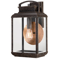Quoizel Lighting Byron 1 Light Outdoor Wall Lantern in Imperial Bronze BRN8410IB