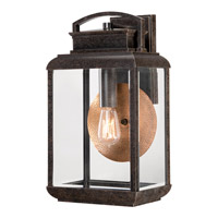 Quoizel Byron 1 Light Outdoor Wall Lantern in Imperial Bronze BRN8410IBFL