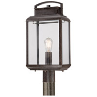 Quoizel Lighting Byron 1 Light Post Lantern in Imperial Bronze BRN9010IB