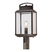 Quoizel Byron 1 Light Outdoor Post Lantern in Imperial Bronze BRN9010IBFL