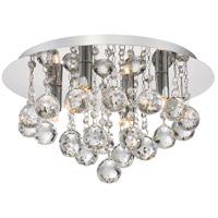 Quoizel BRX1614C Bordeaux 4 Light 14 inch Polished Chrome Flush Mount Ceiling Light