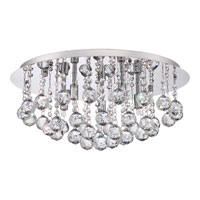 Quoizel BRX1619C Bordeaux 5 Light 20 inch Polished Chrome Flush Mount Ceiling Light alternative photo thumbnail