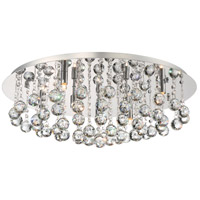 Bordeaux 7 Light 26 inch Polished Chrome Flush Mount Ceiling Light
