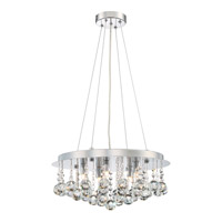 Bordeaux 5 Light 18 inch Polished Chrome Pendant Ceiling Light