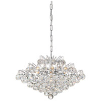Bordeaux 7 Light 20 inch Polished Chrome Pendant Ceiling Light