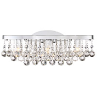 Bordeaux LED 17 inch Polished Chrome Bath Light Wall Light