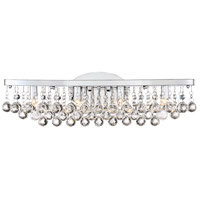 Quoizel BRX8604C Bordeaux 4 Light 23 inch Polished Chrome Bath Light Wall Light, Extra Large