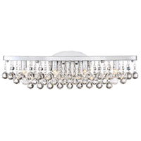 Bordeaux LED 23 inch Polished Chrome Bath Light Wall Light