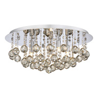 Bordeaux 5 Light 20 inch Polished Chrome Flush Mount Ceiling Light