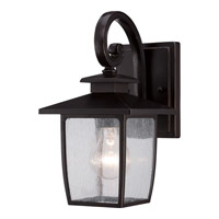 Quoizel Bradley 1 Light Outdoor Wall in Palladian Bronze BRY8406PN