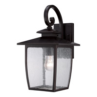 Quoizel Bradley 1 Light Outdoor Wall in Palladian Bronze BRY8409PN