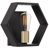 Quoizel BSK8701EK Bismarck 1 Light 10 inch Earth Black Wall Sconce Wall Light, Small