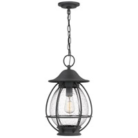 Quoizel BST1911MB Boston 1 Light 11 inch Mottled Black Outdoor Hanging Lantern