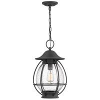 Quoizel BST1911MB Boston 1 Light 11 inch Mottled Black Outdoor Hanging Lantern