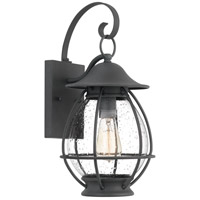 Quoizel BST8409MB Boston 1 Light 17 inch Mottled Black Outdoor Wall Lantern
