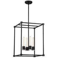 Bayridge 4 Light 16 inch Earth Black Foyer Chandelier Ceiling Light