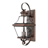 Quoizel CAR8728AC Carleton 1 Light 18 inch Aged Copper Outdoor Wall Lantern alternative photo thumbnail