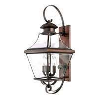Quoizel Lighting Carleton 4 Light Outdoor Wall Lantern in Aged Copper CAR8730AC alternative photo thumbnail