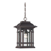 Quoizel Cathedral 1 Light Hanging Lantern in Palladian Bronze CAT1911PN