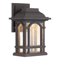 Quoizel Cathedral LED Wall Lantern in Palladian Bronze CATL8407PN
