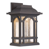Cathedral LED 10 inch Palladian Bronze Wall Lantern Wall Light