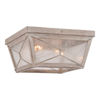 Quoizel Cabin 2 Light Flush Mount in Latte CBN1612LT
