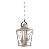 Quoizel Cabin 2 Light Foyer Chandelier in Latte CBN5202LT