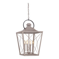 Quoizel Cabin 4 Light Foyer Chandelier in Latte CBN5204LT