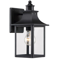 Quoizel CCR8406K Chancellor 1 Light 11 inch Mystic Black Outdoor Wall Lantern