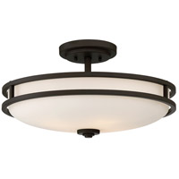 Cadet 4 Light 19 inch Old Bronze Semi-Flush Mount Ceiling Light