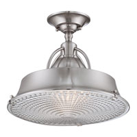Quoizel CDY1714BN Cody 2 Light 15 inch Brushed Nickel Semi-Flush Mount Ceiling Light alternative photo thumbnail
