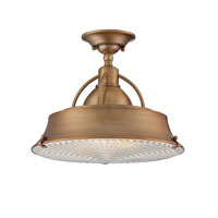 Quoizel Lighting Cody 2 Light Semi-Flush Mount in Mystic Copper CDY1714ZC