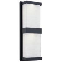 Quoizel CEL8406MBK Celine LED 18 inch Matte Black Outdoor Wall Lantern