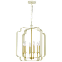 Quoizel CEN5206LCR Centennial 6 Light 20 inch Light Cream Foyer Piece Ceiling Light, Extra Large