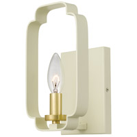 Centennial 1 Light 5 inch Light Cream Wall Sconce Wall Light, Small