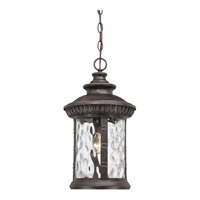 Quoizel Chimera 1 Light Outdoor Hanging Lantern in Imperial Bronze CHI1911IBFL
