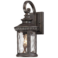 Quoizel Lighting Chimera 1 Light Outdoor Wall Lantern in Imperial Bronze CHI8407IB